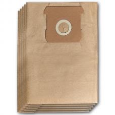 Мешок-пылесборник бумажный к строительным пылесосам 15л (5шт.)