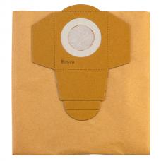 Мешок-пылесборник бумажный к строительным пылесосам 30л (5шт.)