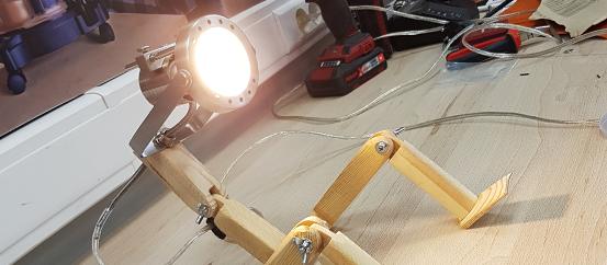 Светильник-робот